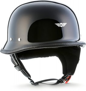 "Casco D33 ""Black"" Casco para scooter, chopper,"