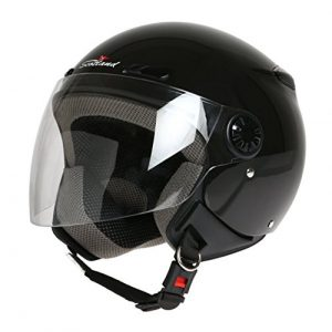 Scotland D/Jet - Casco con Visera Larga